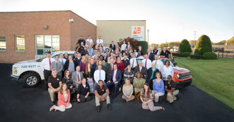 Memphis Communications Corporation employee group photo