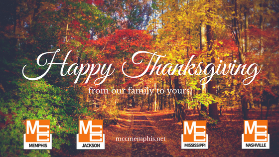 Happy Thanksgiving from MCC