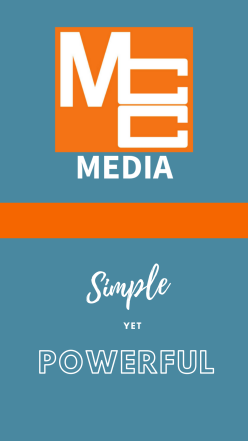MCC Media- Simple Yet Powerful