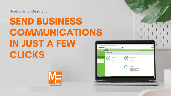 Send business communications in just a few clicks with Neotouch by Quadient and MCC