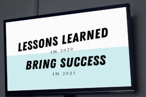 MCC Media digital signage internal communications - Lessons Learned in 2020 Bring Success in 2021